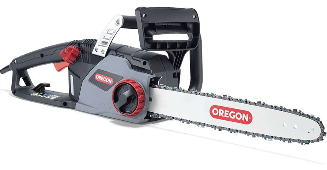 Best Corded Electric Chainsaw - Oregon 603348 CS1400 Corded Chainsaw