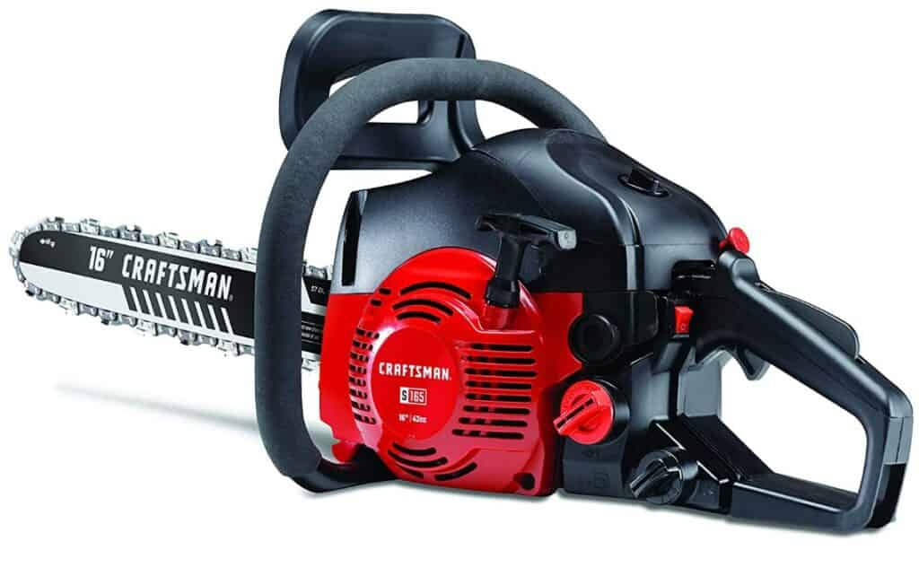 Best Gas Chainsaw - Craftsman Full Crank 2-Cycle Gas Chainsaw