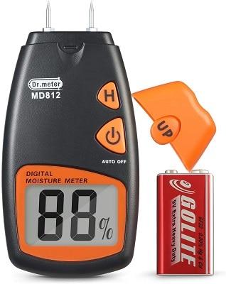 Dr. Meter MD812 Digital Wood Moisture Meter