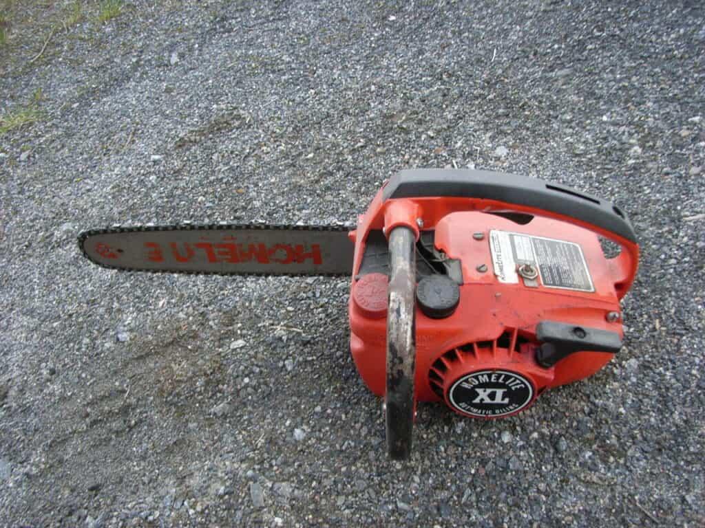Homelite XL Chainsaw