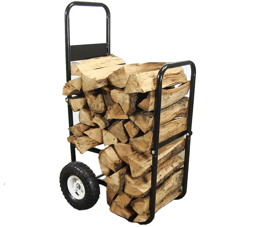 Best Lightweight Firewood Cart – Sunnydaze Firewood Log Cart