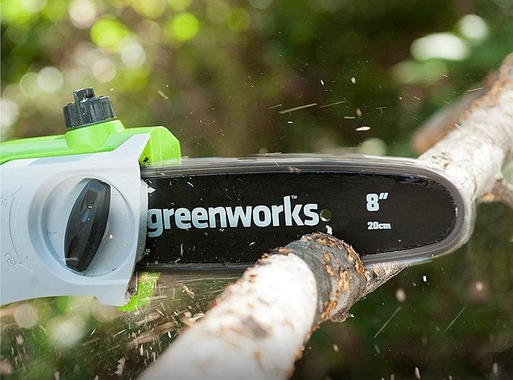 Greenworks 20672 40V Cordless Pole Saw