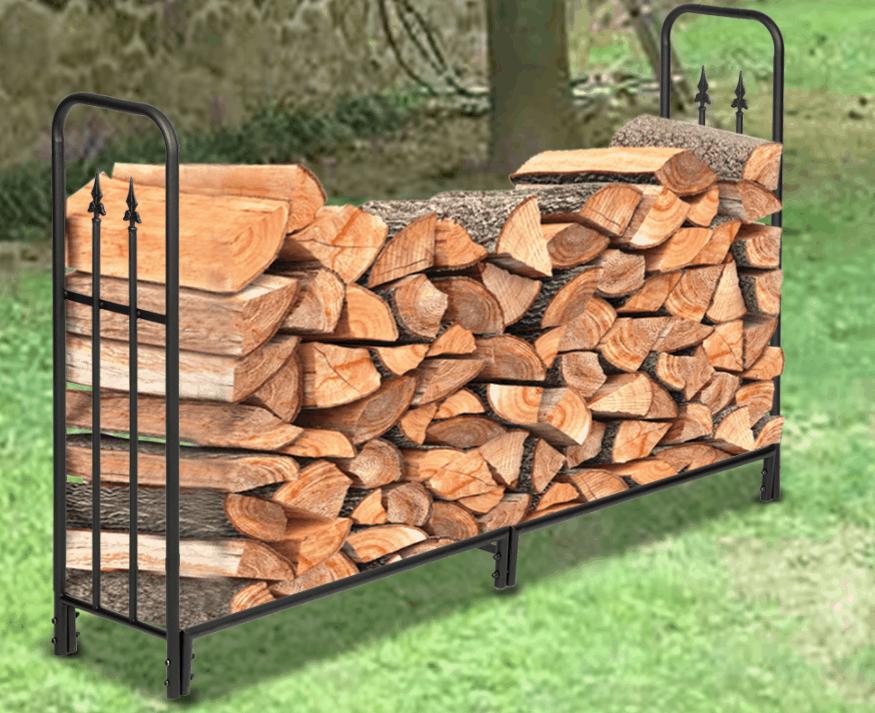 Outdoor Wood Rack