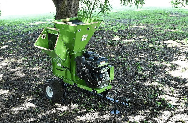 wood chipper green