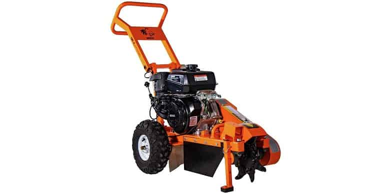 DK2 Power Gas Powered Certified Commercial Frame Stump Grinder - Best for Quick DIY Jobs