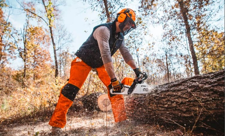 Safety Tips for Using a Chainsaw