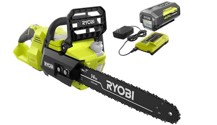 Core Features of the Ryobi 40v Chainsaw