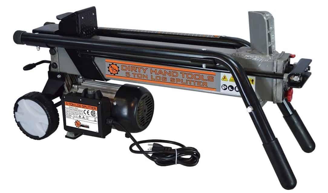 Electric Horizontal Log Splitter